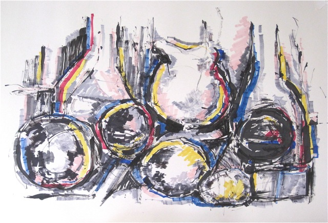 Still Life with Ink